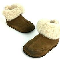 Ugg Australia Infant/toddler Girls Tan 5206 Baby Boo Boots Size M (4-5) Photo