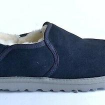 Ugg Australia Kenton Navy Suede Slippers Men's Size 8 Photo