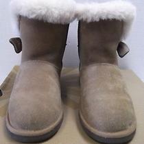 Ugg Australia Kid's Kourtney Boots Color Chestnut Size 5 1005398k Photo