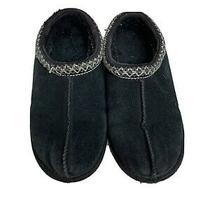 Ugg Australia Kid's Youth  S/n 5252 Tasman Black Slippers - Size 3 Photo