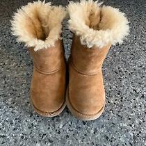 Ugg Australia Kids Boots Girl Size 8 Brown Used Photo
