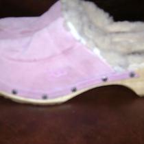 Ugg Australia Kids Girls' Kalie Ii Clogs Mules Shoes Size Us 3 Eu 33 Rose Quartz Photo
