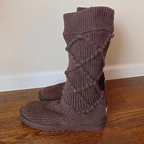 Ugg Australia Knit Boots  sz.9  S/n 5879  Photo
