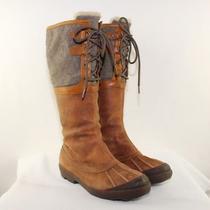 Ugg Australia Ladies Belcloud Lace-Up Boots Size 9.5m Photo