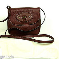 Ugg Australia  Leather Crossbody  Mahogany    Nwt      1642 Photo