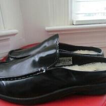 Ugg Australia Leather Women's Winter Mules Size 10 Photo