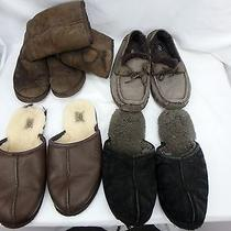 Ugg Australia Lot of 4 Pair Boots Womens Size 7 Slippers Mens Size 12/13 Photo