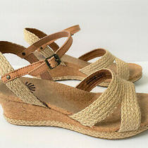 Ugg Australia Luann Jute Wedge Sandals Usa 9.5 M Women's Color Tawny 1009847  Photo