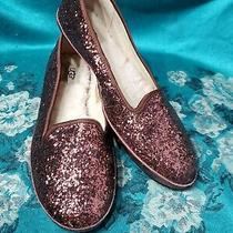 Ugg Australia Multicolor Glitter Moccasin Size 8 Photo