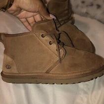 Ugg Australia Neumel Suede Boots for Men Size 9 - Chestnut Photo