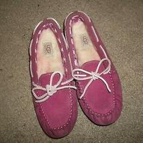 Ugg  Australia Pink  Slippers    Girls  Sz.  3 Photo