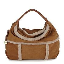 Ugg Australia Quinn Sheepskin Shearling Hobo Chestnut Nwt in Ugg Packaging Photo