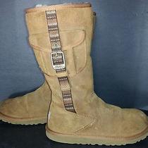 Ugg Australia Retro Cargo Chestnut Boots Womens Size 5 Photo