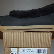 Ugg Australia Rylan Black Us Sizes 5 Womens Slippers Photo