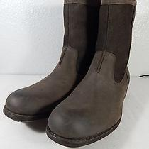 Ugg Australia - Size 11 M Us Mens Hartsville Brown Leather Suede Insulated Boots Photo