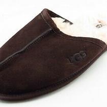 Ugg Australia Size 11 Medium (D m) Brown Mule Leather Men Shoes Photo