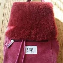 Ugg Australia Suede Backpack Photo