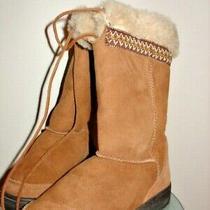 Ugg Australia Tall Chestnut Boots Sz 6 Photo