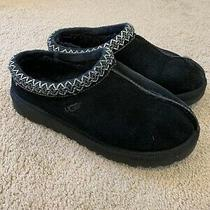 Ugg Australia Tasman Womens Size 7 Black Slippers Photo