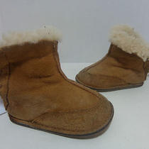 Ugg Australia Toddler Boo Baby Booties 5206 Chestnut Sz S Photo