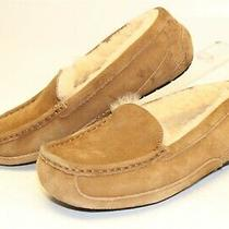 Ugg Australia Uggs Womens 5 36 Ansley Brown Sheepskin Suede Slippers Shoes  Photo