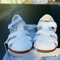 Ugg Australia White Sandals Girls Infant Toddler Us  Size 6/7 Shoes New in Box Photo