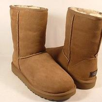 Ugg Australia Women Classic Short Boots Chestnut Size 7 New W Box Authentic Photo
