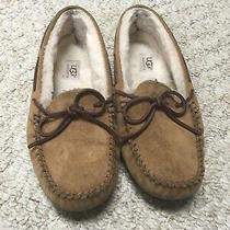 Ugg Australia Women Dakota Moccasin Chestnut Slipper Us Size 8 Photo