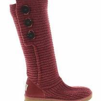 Ugg Australia Women Red Boots Us 8 Photo