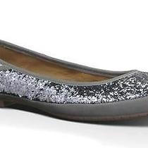 Ugg Australia Women's Antora Glitter Flatgorgeous Glittery Sterling-Silver 8.5m Photo