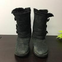 Ugg Australia Women's Bailey Button Winter Boots/ Black Size 2 Photo