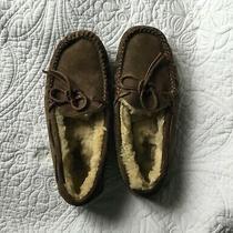 Ugg Australia Women's Dakota Chestnut Sheepskin Moccasins Slippers  5612 Size 6 Photo