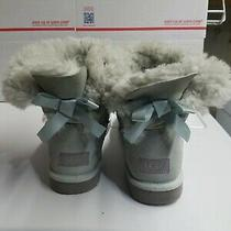 Ugg Australia Women's Mini Bailey Bow  Ankle Suede Boots 1005062 Size 8 Photo