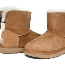 Ugg Australia Women's Mini Bailey Bow Boots Ii Chestnut Sz 5-11 New Version Photo