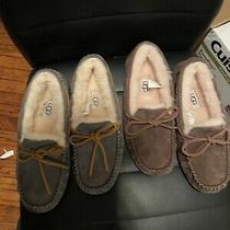 Ugg Australia Women's  Moccasin Slipper Coco Brown and Grey  - Size 5 Photo