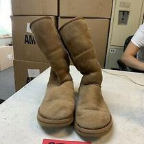 Ugg Australia Womens Size 6 Classic Tall Chestnut Sheepskin Boots Shoes 5815 Photo