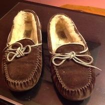 Ugg Australia Women's Slippers - Sz 7 -  F80056 Rich Brown Photo