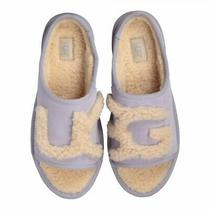 Ugg Australia Women's Suede Slide Slipper Horizon Light Blue New in Box Size 6 Photo
