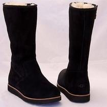 Ugg Australia Women's Sunset Iii Black Side Zip Boots Size Us 9/uk 7.5/eu 40 Photo