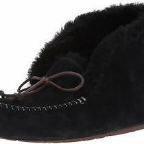 Ugg Australia Womens Alena Closed Toe Slip on Slippers Black Size 7.0 Photo