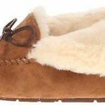 Ugg Australia Womens Alena Faux Fur Closed Toe Slip on Chestnut Size 7.0 Hdgr Photo