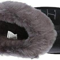 Ugg Australia Womens Coquette Fur Closed Toe Slip on Slippers Gold Size 8.0 Photo