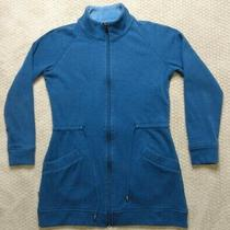 Ugg Australia Womens Raleigh Blue Cinched Jacket Ua5188w Fleece Full Zip Small Photo