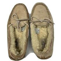 Ugg Australia Womens Size 7 Dakota Suede Shearling Moccasin Slipper Shoe 5131 Photo