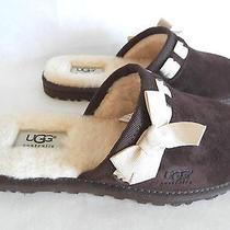Ugg Australia Womens Slippers Nala  Clog Chocolate Size 6 Photo