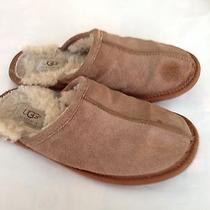 Ugg Beige Slippers 5352 Sand Suede Women Slipper Shoes 8 Photo