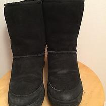 Ugg Black Snow Boots (Size 7) Photo