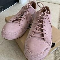 Ugg Blake Suede Sneaker Lace-Up Tennis Shoe Dusk Pink Sz 10 Retail 140 With Box Photo
