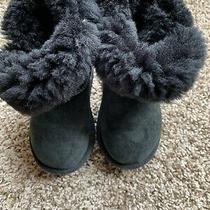 Ugg Boot Black Girls Size 9 Photo