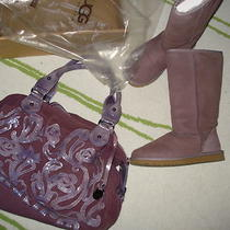 Ugg Boots 36 - 5/6 With a Matching Bag Photo